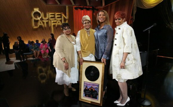 Clark Sisters Surprise Queen Latifah for her Birthday (Watch her Reaction)