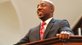 Pastor Raphael Warnock of the historic Ebenezer Baptist Church speaks on Baltimore!