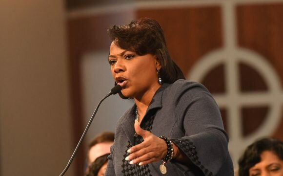 Bernice King posts 10 tips on dealing with the Donald Trump 'Regime'