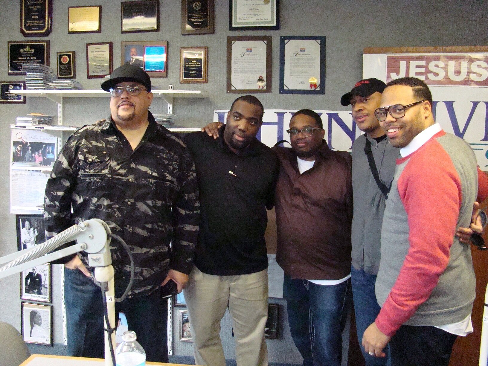 The United Tenors live in the studio